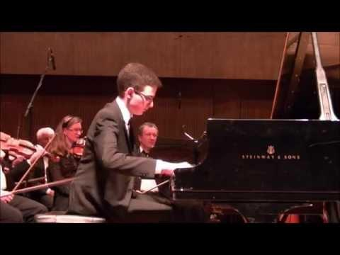 Tom Zalmanov (15) - Chopin Piano Concerto No. 1 in E minor (complete)