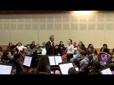 התזמורת הקאמרית של הקונסרבטוריון בחזרה פתוחה